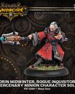 Privateer Press - PIP Warmachine - Mercenaries - Orin Midwinter, Rogue Inquisitor - Minion Character Solo