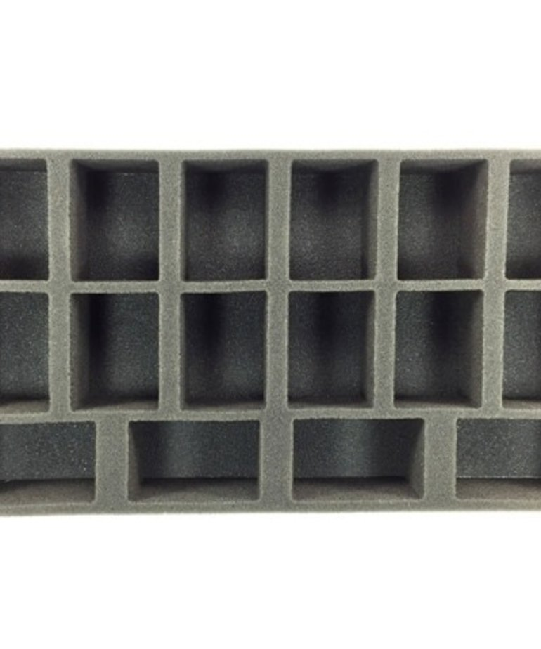 Battle Foam - BAF Battle Foam: Trays - Warmachine/Hordes - Oversized Medium Troop Tray (PP-2) BLACK FRIDAY NOW