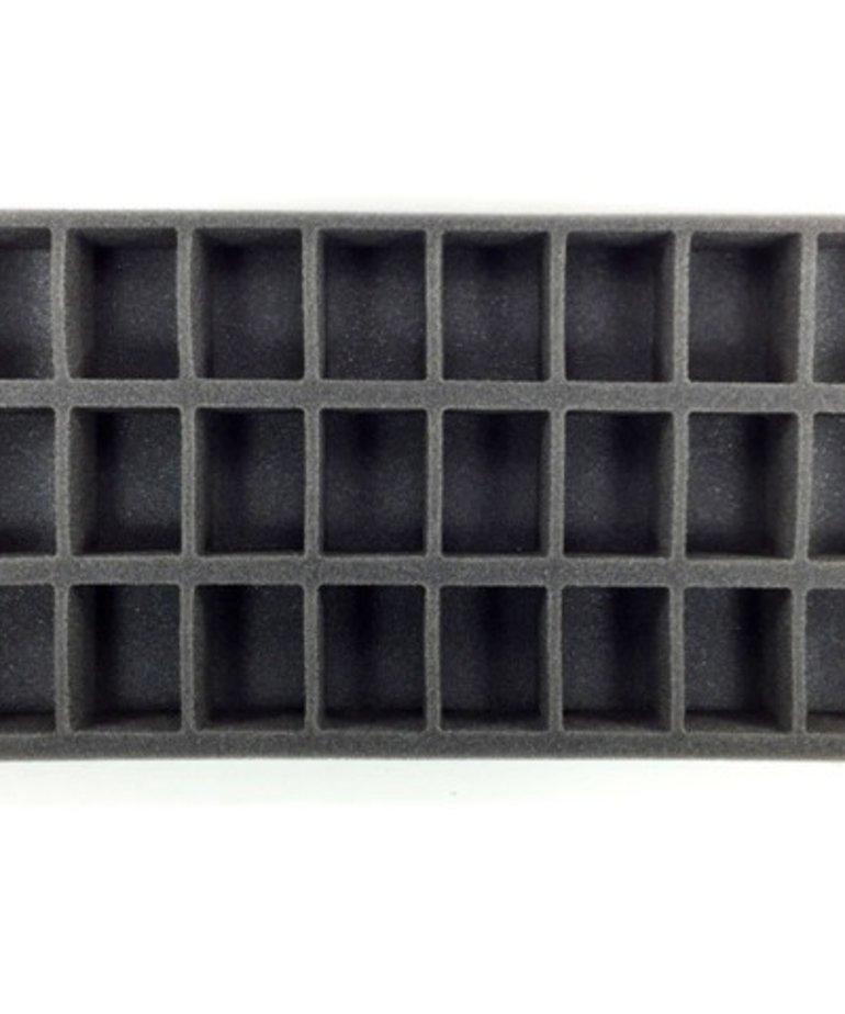 Battle Foam - BAF Battle Foam: Trays - Warmachine/Hordes - Oversized Small Troop Tray (PP-1.5)