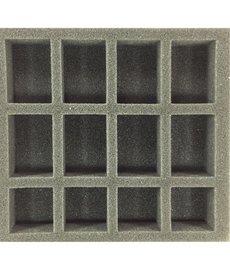 Battle Foam - BAF Oversized Small Troop Half Tray (PP.5-1.5) BLACK FRIDAY NOW