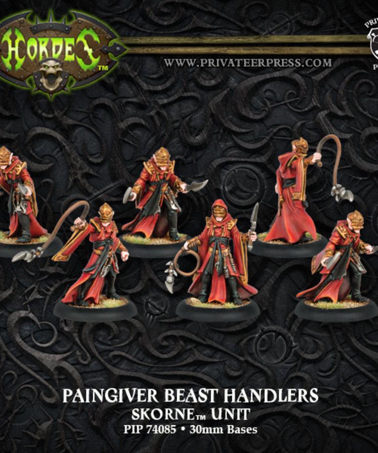 Privateer Press - PIP Hordes - Skorne - Paingiver Beast Handlers - Unit
