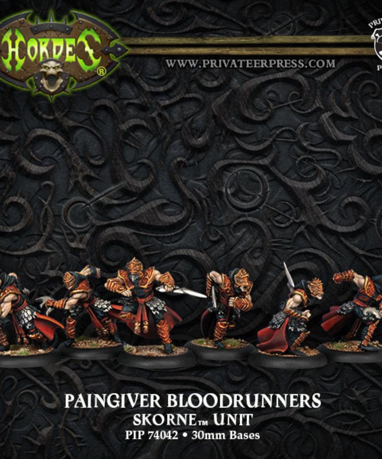 Privateer Press - PIP Hordes - Skorne - Paingiver Bloodrunners - Unit