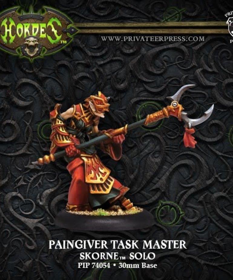 Privateer Press - PIP Hordes - Skorne - Paingiver Task Master - Solo
