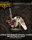 Privateer Press - PIP Warmachine - Protectorate of Menoth - Paladin of the Wall (Variant) - Solo