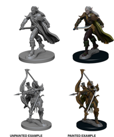 WizKids - WZK Pathfinder Battles: Deep Cuts - Elf Male Fighter