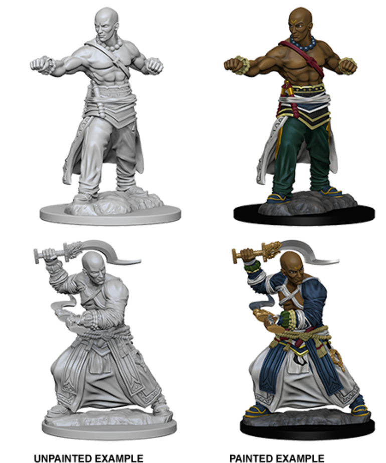 WizKids - WZK Pathfinder Battles: Deep Cuts - Human Male Monk