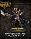 Privateer Press - PIP Warmachine - Cryx - Pirate Queen Skarre - Warcaster (Skarre  1)