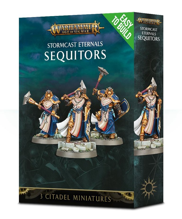 Games Workshop - GAW Warhammer Age of Sigmar - Stormcast Eternals - Sequitors - Easy to Build
