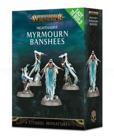 Games Workshop - GAW Warhammer Age of Sigmar - Nighthaunt - Myrmourn Banshees - Easy to Build