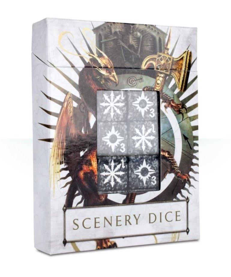 Games Workshop - GAW Warhammer Age of Sigmar - Scenery Dice