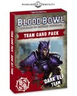 Games Workshop - GAW Blood Bowl - Dark Elf Team Card Pack