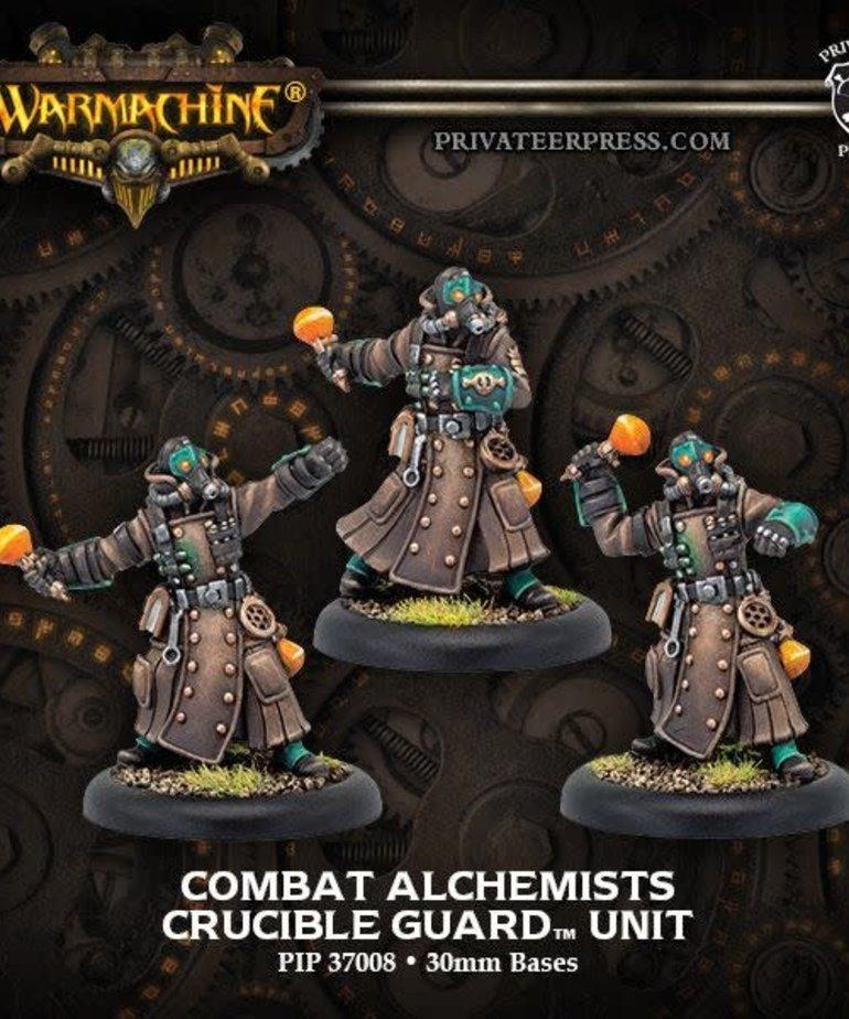 Privateer Press - PIP Warmachine - Crucible Guard - Combat Alchemists - Unit