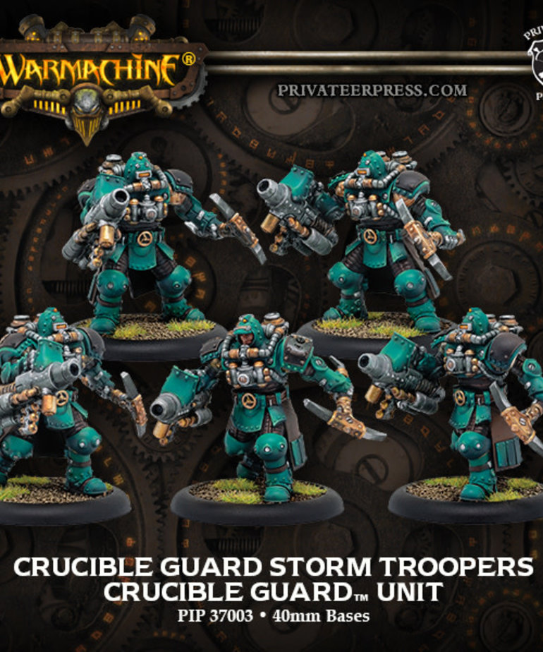 Privateer Press - PIP Warmachine - Crucible Guard - Storm Troopers - Unit