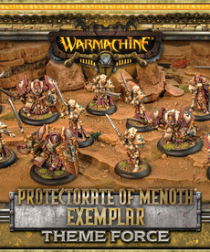 Privateer Press - PIP Warmachine - Protectorate of Menoth - Exemplar Theme Force