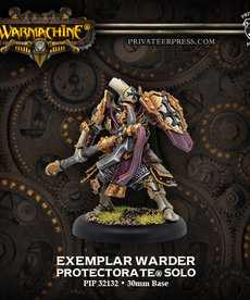 Privateer Press - PIP Warmachine - Protectorate of Menoth - Exemplar Warder - Solo