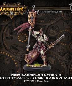 Privateer Press - PIP Warmachine - Protectorate of Menoth - High Exemplar Cyrenia Warcaster (Cyrenia 1)