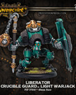 Privateer Press - PIP Warmachine - Crucible Guard - Liberator - Light Warjack