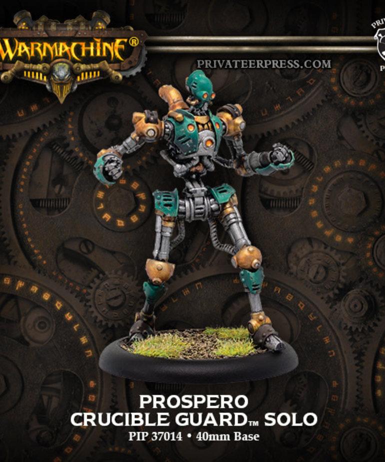 Privateer Press - PIP Warmachine - Crucible Guard - Prospero - Solo