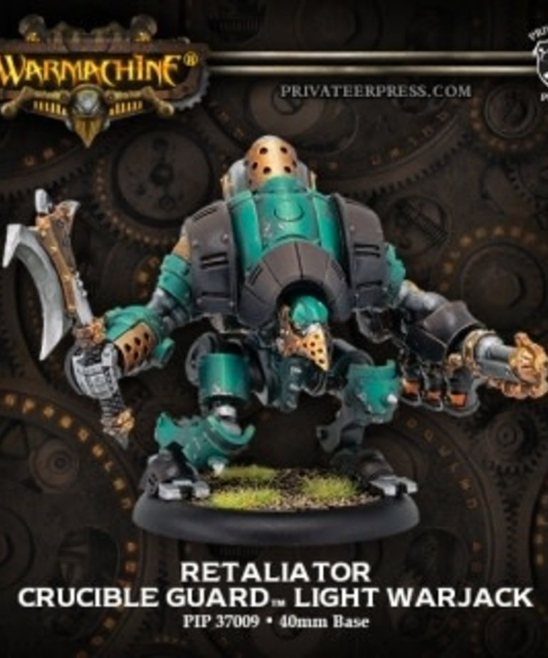 Privateer Press - PIP Warmachine - Crucible Guard - Retaliator - Light Warjack