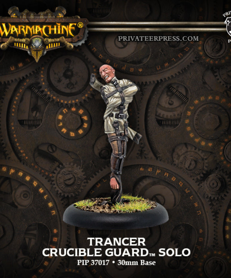 Privateer Press - PIP Warmachine - Crucible Guard - Trancer - Solo