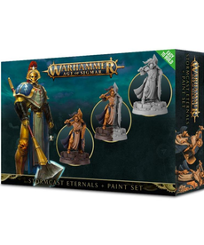 Games Workshop - GAW Warhammer Age of Sigmar - Stormcast Eternals + Paint Set - Easy to Build