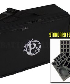 Battle Foam - BAF Battle Foam: Bags - Privateer Press: P3 Paint - Standard Load Out Bag - Black