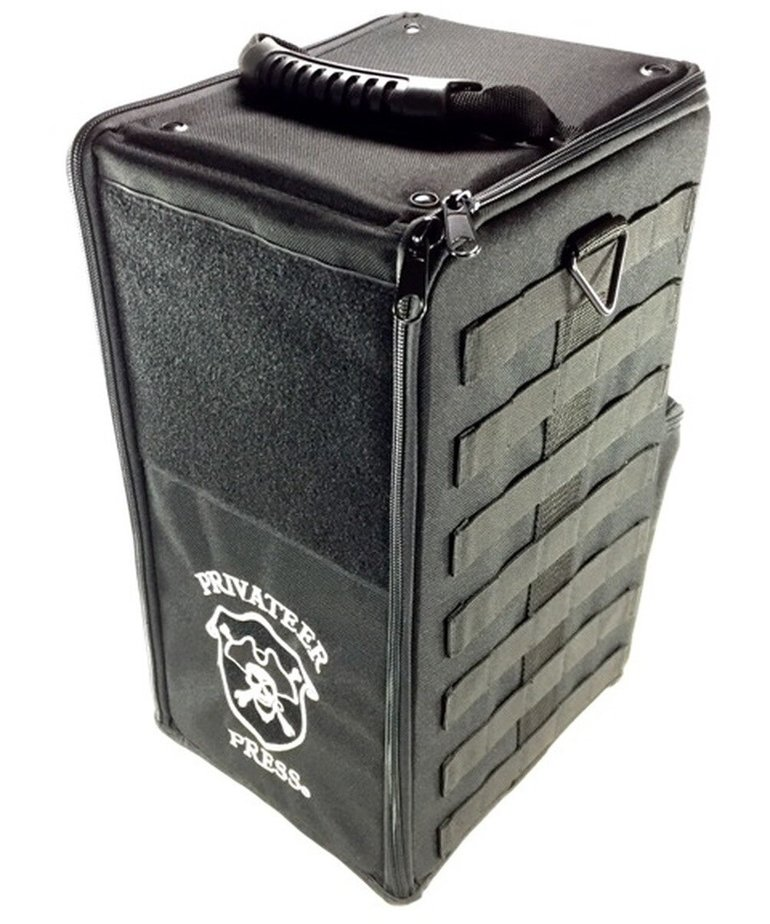 Battle Foam - BAF Battle Foam: Bags - Privateer Press - Tournament Bag - Black (Empty)