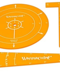 Privateer Press - PIP Warmachine - Protectorate of Menoth - Acrylic Template Set