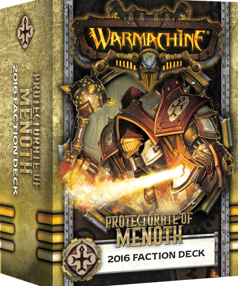 Privateer Press - PIP Warmachine - Protectorate of Menoth - 2016 Faction Deck MK III