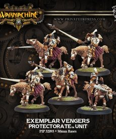 Privateer Press - PIP Warmachine - Protectorate of Menoth - Exemplar Vengers - Cavalry Unit
