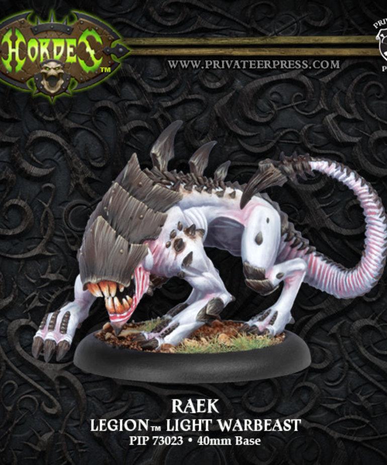 Privateer Press - PIP Hordes - Legion of Everblight - Raek - Light Warbeast