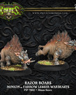 Privateer Press - PIP Hordes - Minions - Razor Boars - Lesser Warbeasts