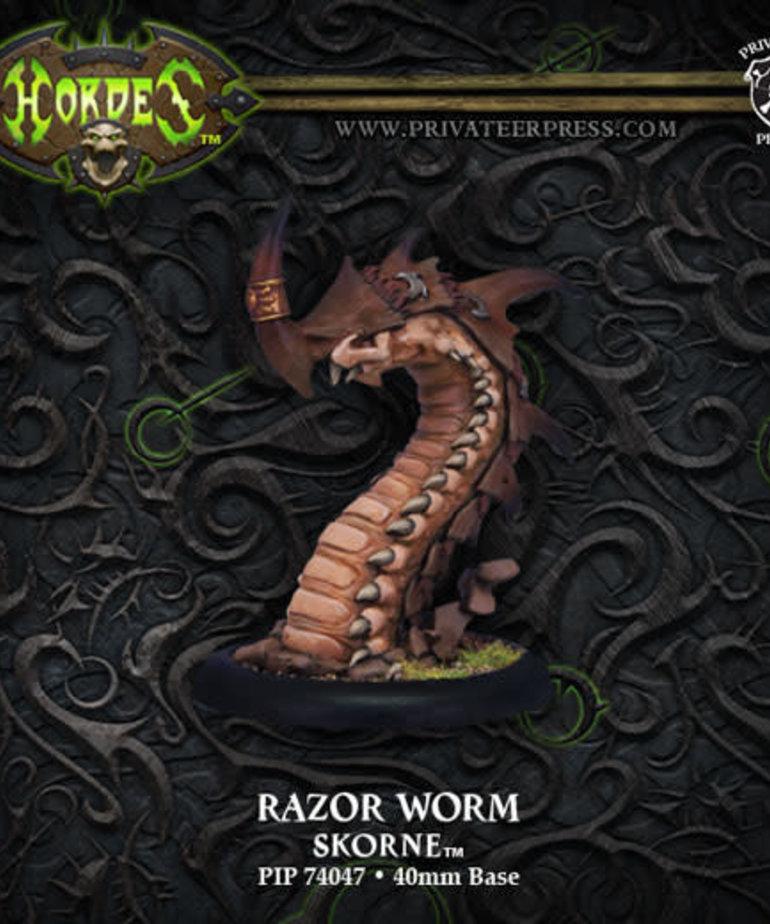 Privateer Press - PIP Hordes - Skorne - Razor Worm - Light Warbeast