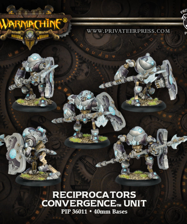 Privateer Press - PIP Warmachine - Convergence of Cyriss - Reciprocators - Unit