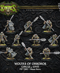 Privateer Press - PIP Hordes - Circle Orboros - Reeves / Wolves of Orboros - Unit