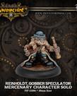 Privateer Press - PIP Warmachine - Mercenaries - Reinholdt, Gobber Speculator - Character Solo