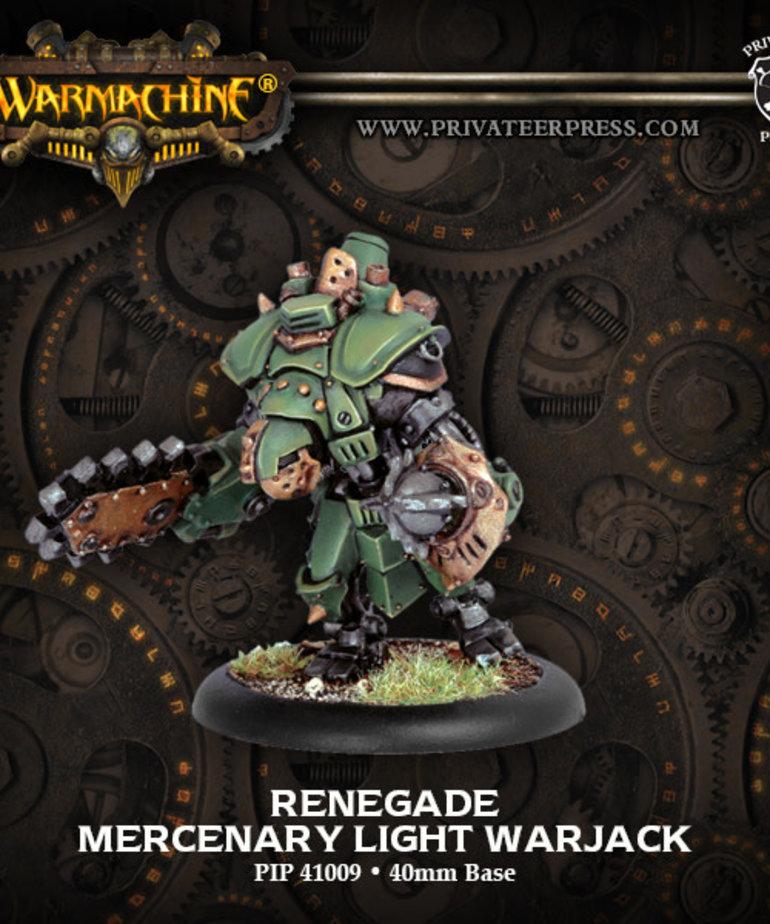 Privateer Press - PIP Warmachine - Mercenaries - Renegade - Light Warjack
