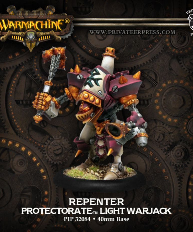 Privateer Press - PIP Warmachine - Protectorate of Menoth - Repenter - Light Warjack