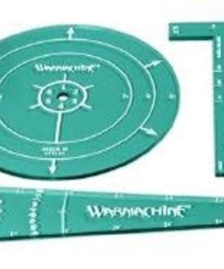 Privateer Press - PIP Warmachine - Retribution of Scyrah - Acrylic Template Set