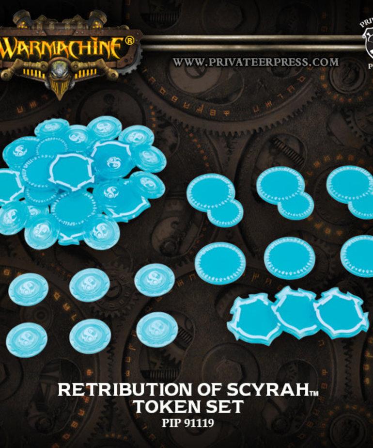 Privateer Press - PIP Warmachine - Retribution of Scyrah - Token Set Mark III