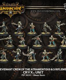 Privateer Press - PIP Revenant Crew of the Atramentous & 3 Riflemen