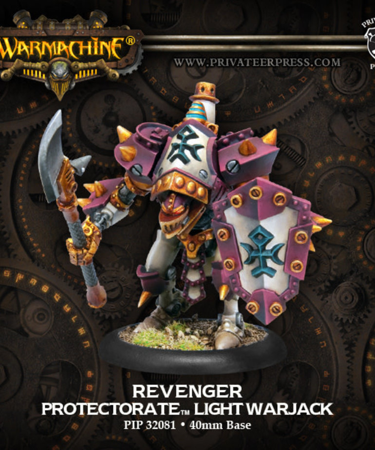Privateer Press - PIP Warmachine - Protectorate of Menoth - Revenger - Light Warjack