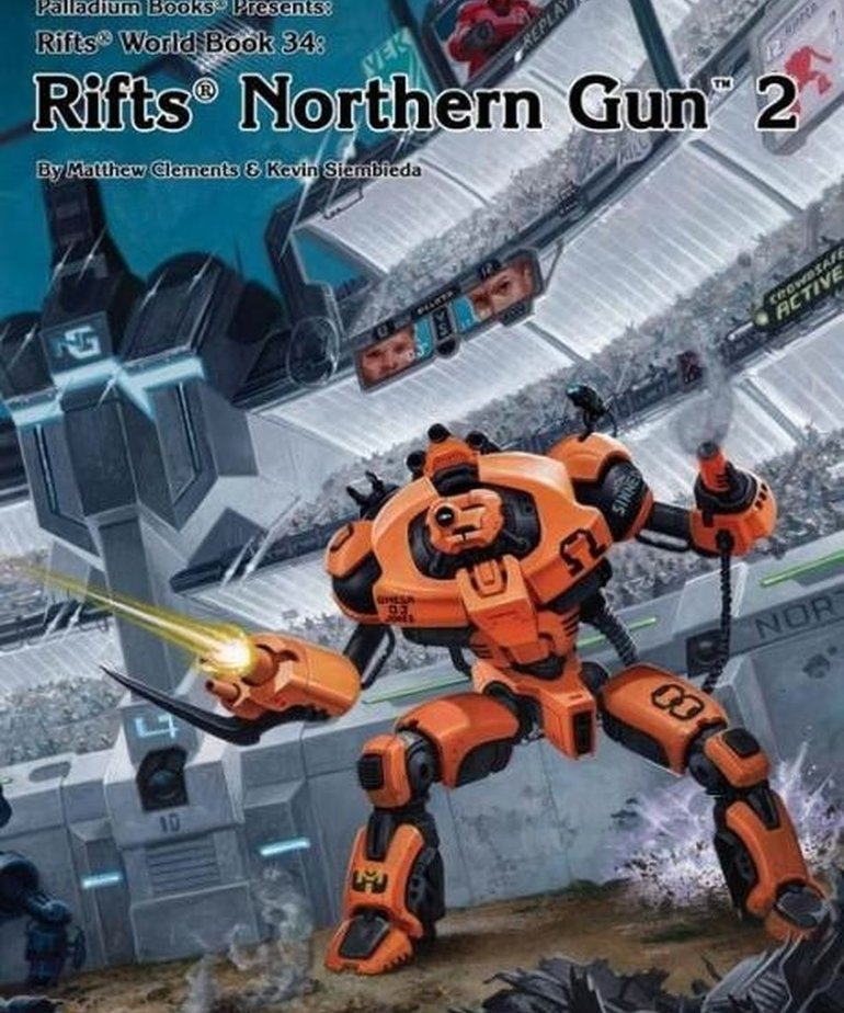 CLEARANCE Rifts Northern Gun 2 (DOMESTIC ONLY)