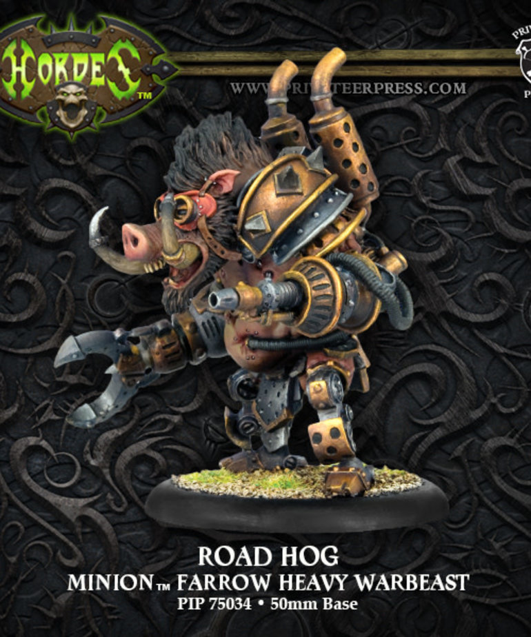 Privateer Press - PIP Hordes - Minions - Road Hog