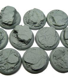 Secret Weapon Miniatures - SWM CLEARANCE Rocky Bluff 30mm Bases (10) Secret Weapon Bases