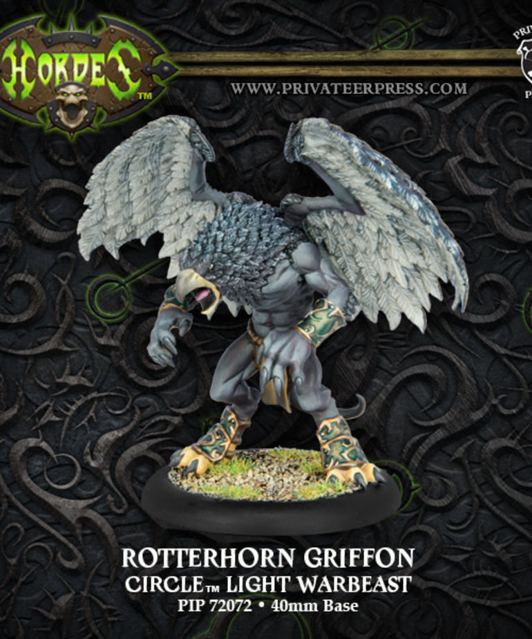 Privateer Press - PIP Hordes - Circle Orboros - Rotterhorn Griffon - Light Warbeast