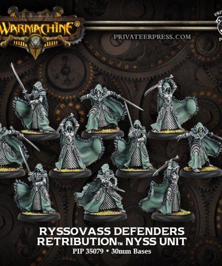 Privateer Press - PIP Warmachine - Retribution of Scyrah - Ryssovass Defenders Nyss - Unit