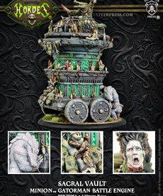 Privateer Press - PIP Hordes - Minions - Sacral Vault - Gatorman Battle Engine