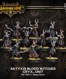 Privateer Press - PIP Warmachine - Cryx - Satyxis Blood Witches