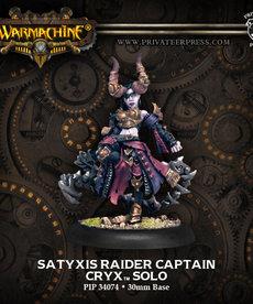 Privateer Press - PIP Warmachine - Cryx - Satyxis Raider Captain
